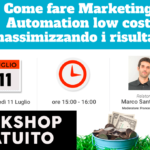Come fare Marketing Automation con software low cost massimizzando i risultati
